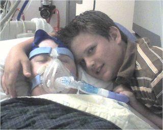 Josh & Aaron hospital