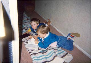 Josh & Aaron reading